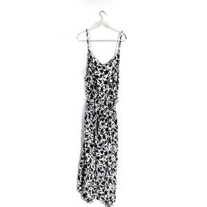 Ava & Viv Floral Print V neck Dress Size 3X NWT